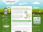 Gisele Jaquenod Blog design by arwenita