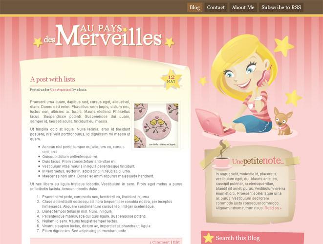 Au Pays... Wordpress blog by arwenita