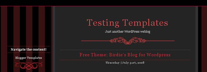 Free Dark News for Wordpress by arwenita