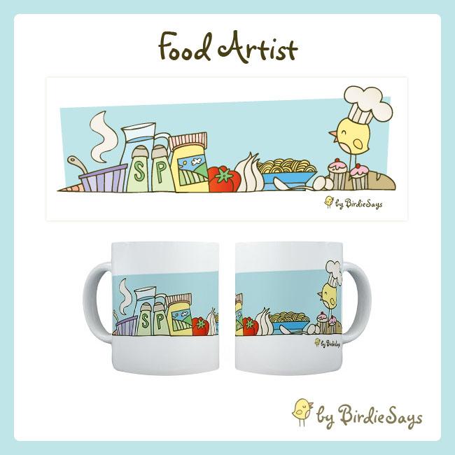 BS - Food Artist by arwenita