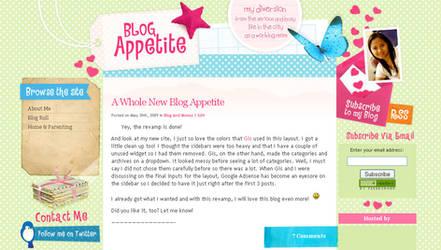 Blog Appetite for Wordpress