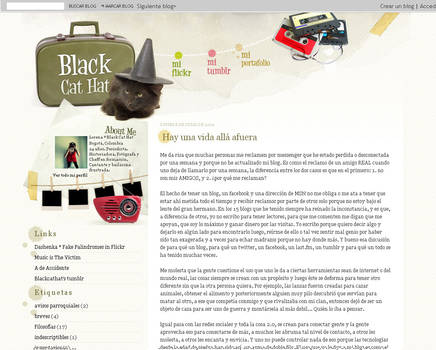 Black Cat Hat blog