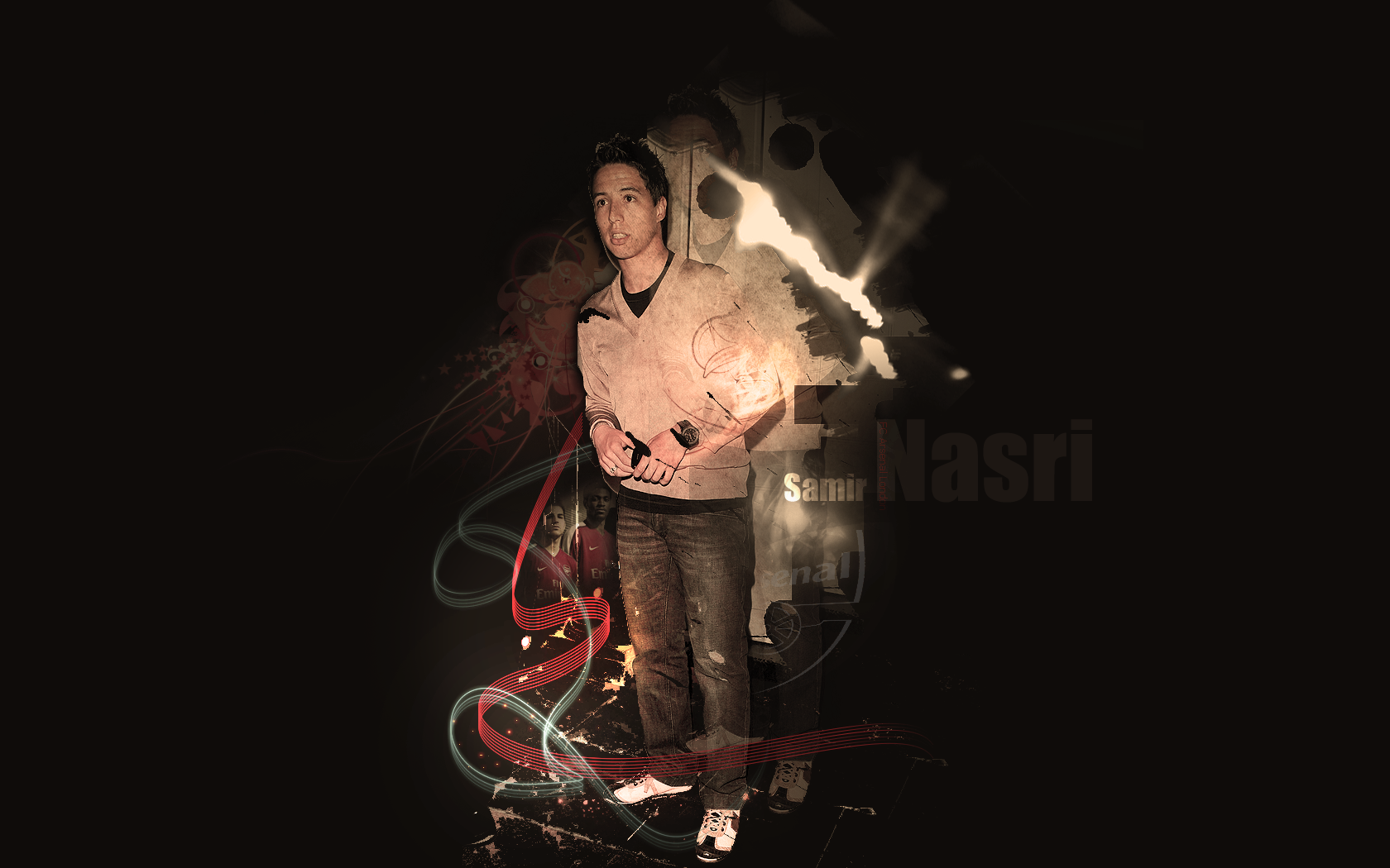 Samir Nasri Wallpaper by Paveman