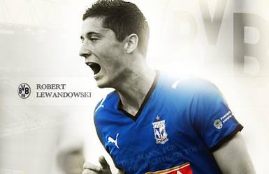 Robert Lewandowski - BVB by Paveman