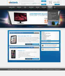 electonis - onlineshop by Paveman