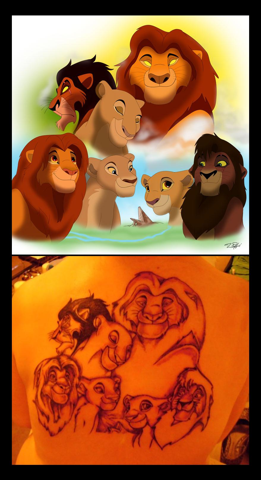 Commission Tattoo