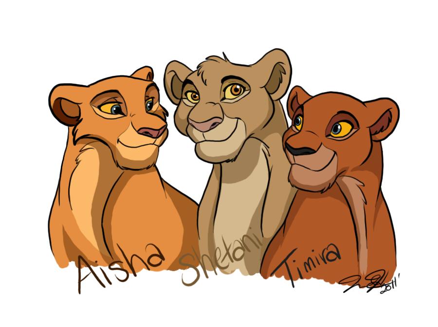 Как рисовать все картинки король лев