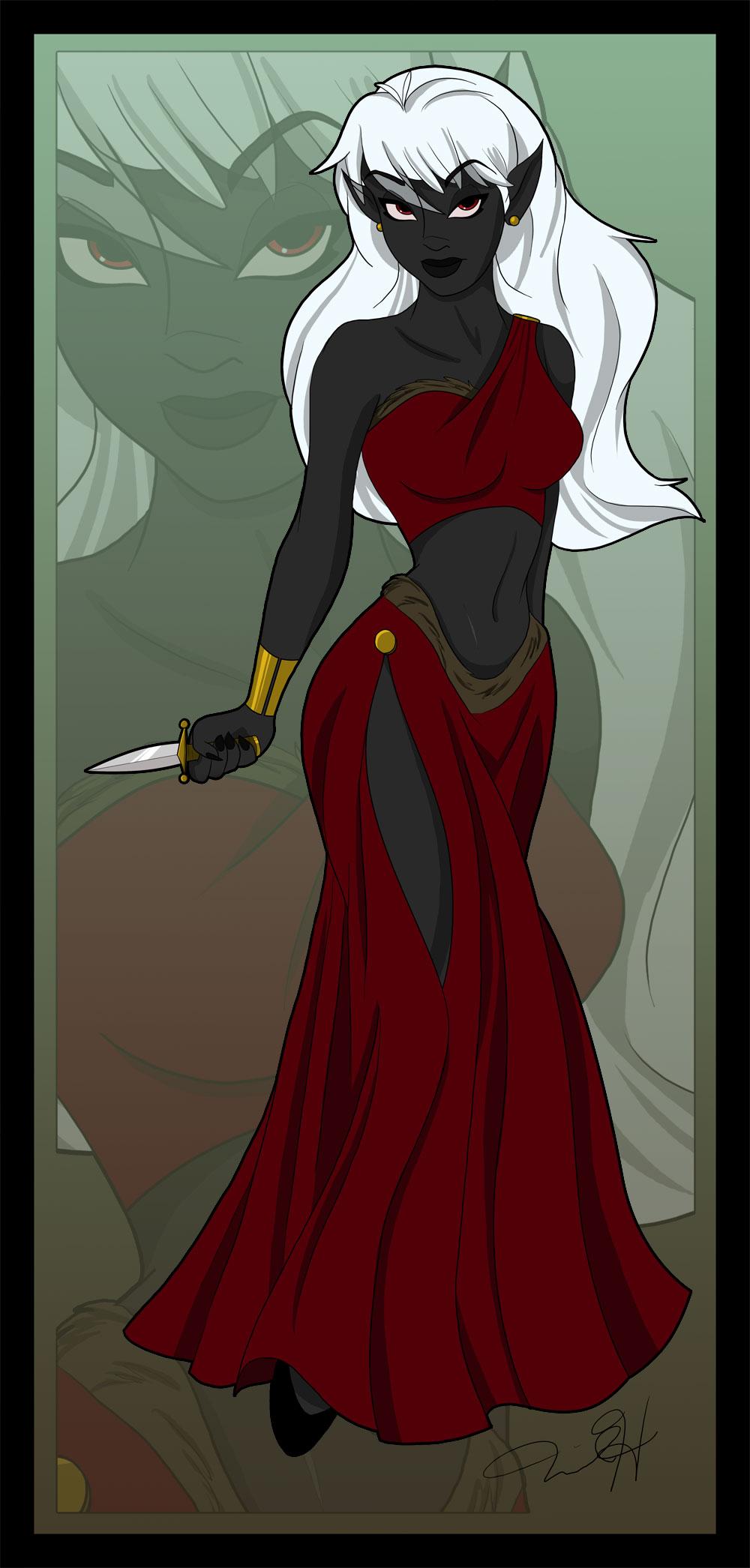 Commission Laila Darkspire by Capricornfox