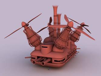 Steampunk Tank by dareg