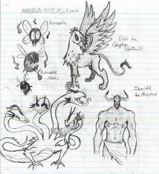 Magical Amicus Beast Set 2