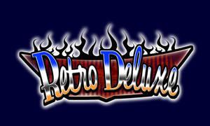 retro deluxe logo