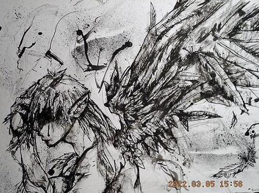 Guardian Demon + Fallen Angel by Milknoodles