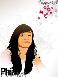 Vector girl by erixyao