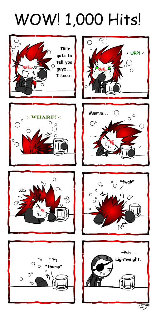 Axel Says Thanks by LadyOCloud7
