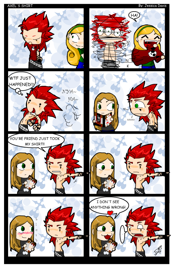 Axel's Shirt by LadyOCloud7