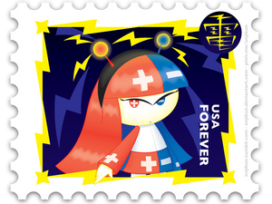 Stamp Series: Electric