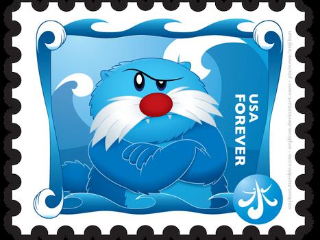Stamp Series: Water
