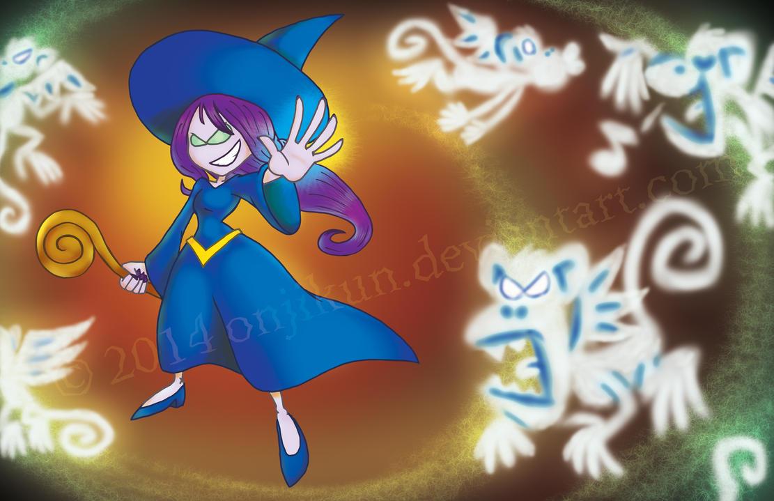 The Wicked Witch by onjikun