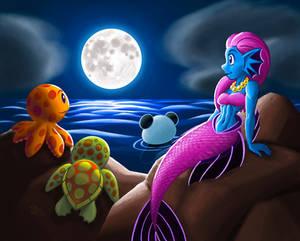 Seaside Moonlight