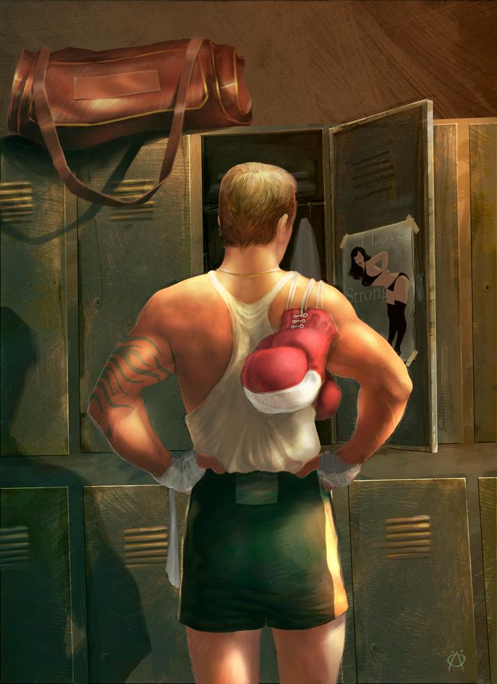 Strong Man by ay-han