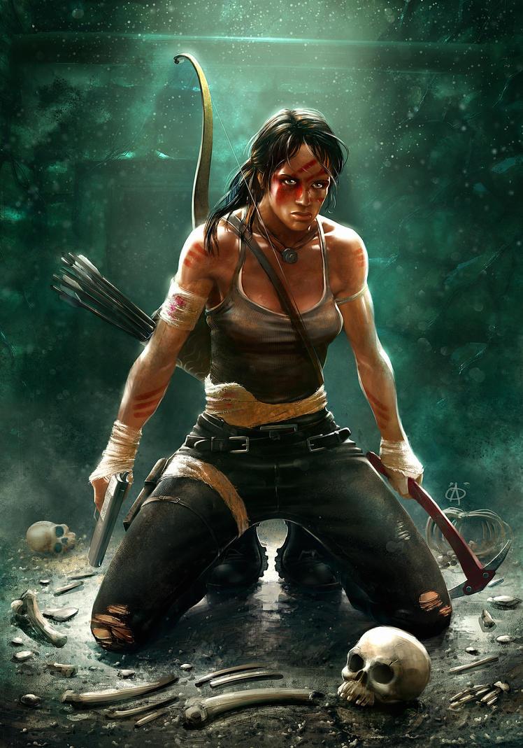 Tomb Raider Reborn contest entry 1 by ay-han
