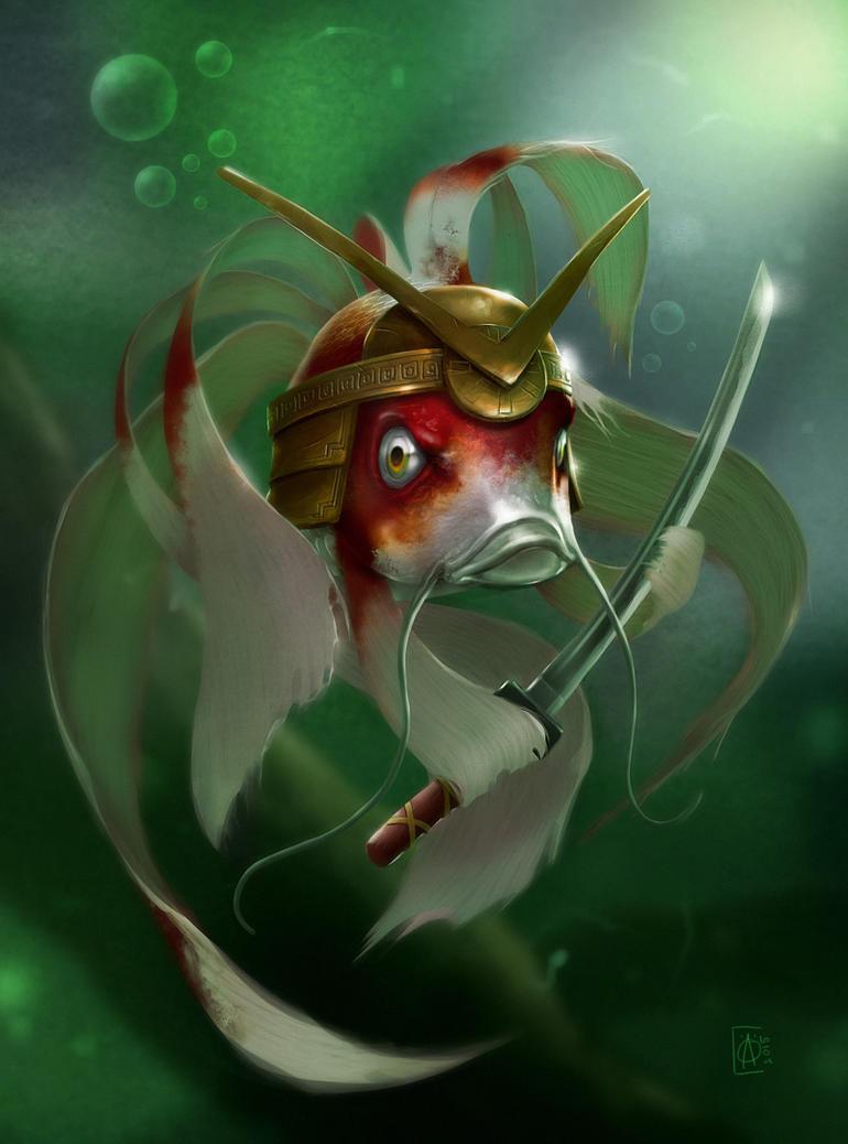 Rumble Fish by ay-han