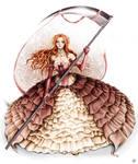 Pink Ruffles Dress Concept