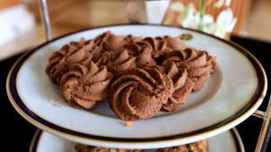 chocolate swirls..
