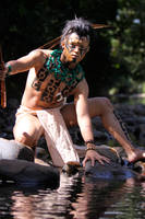 Mayan warrior.. by jeffzz111
