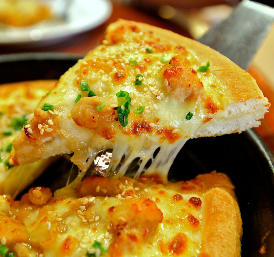 Honey Garlic Chicken pizza by jeffzz111