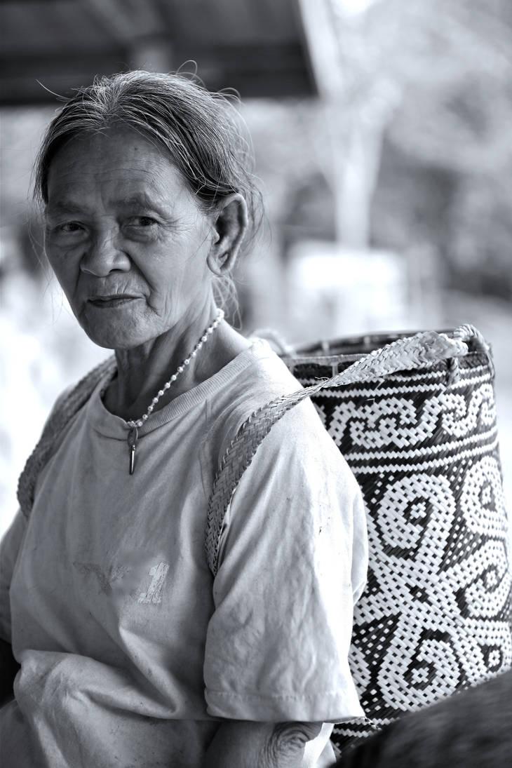 Penan lady by jeffzz111