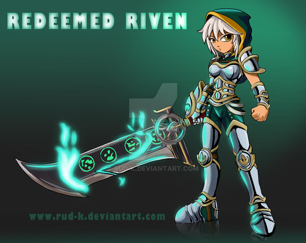 lol redeemed riven by Rud-K on DeviantArt