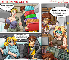 Comm : Helping Ace by Rud-K