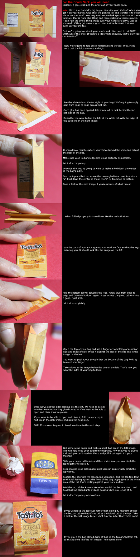 Snack Sack Tutorial by QTRQ