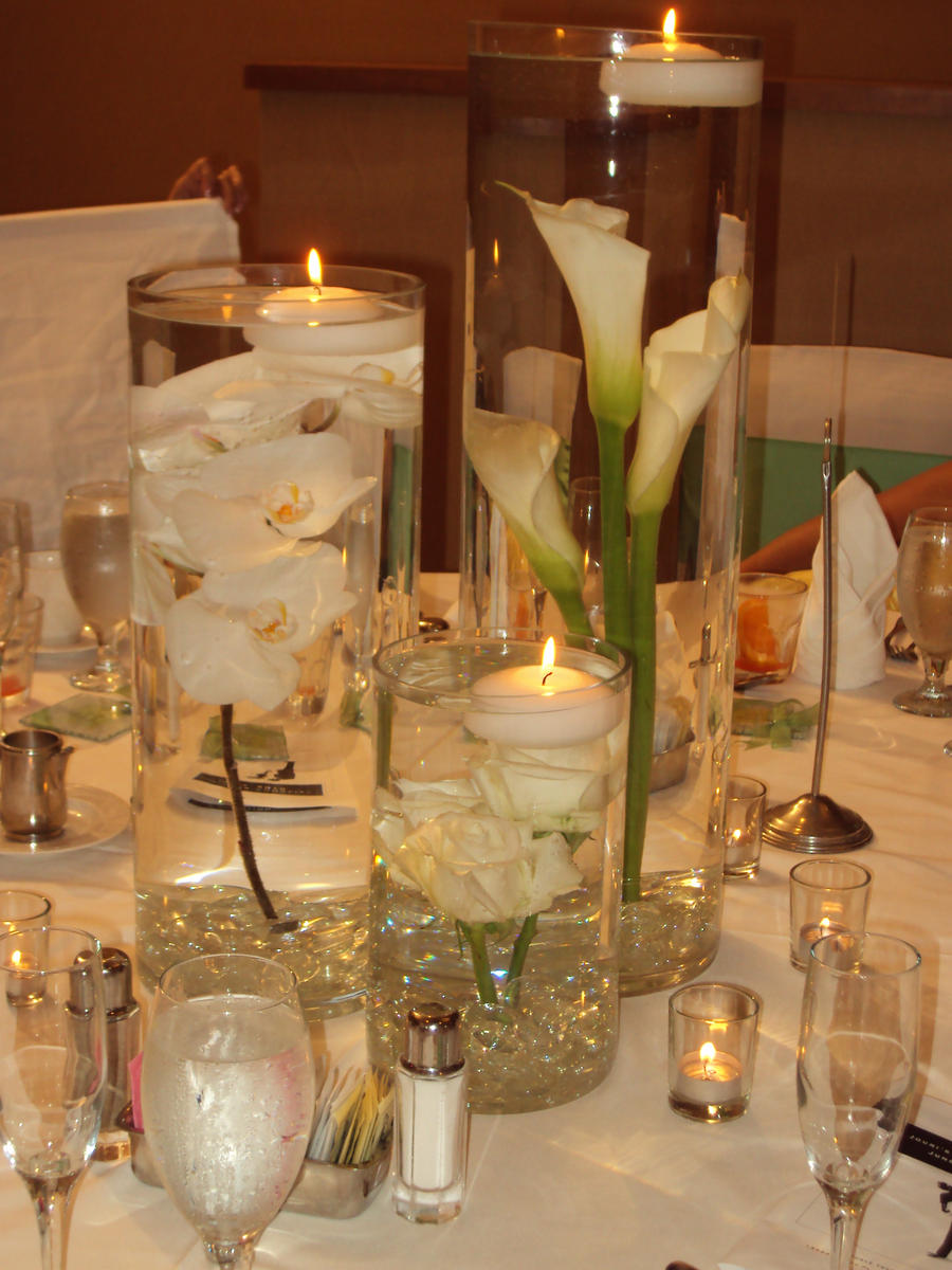 Wedding center piece by ifihadsanitymikaed on deviantart