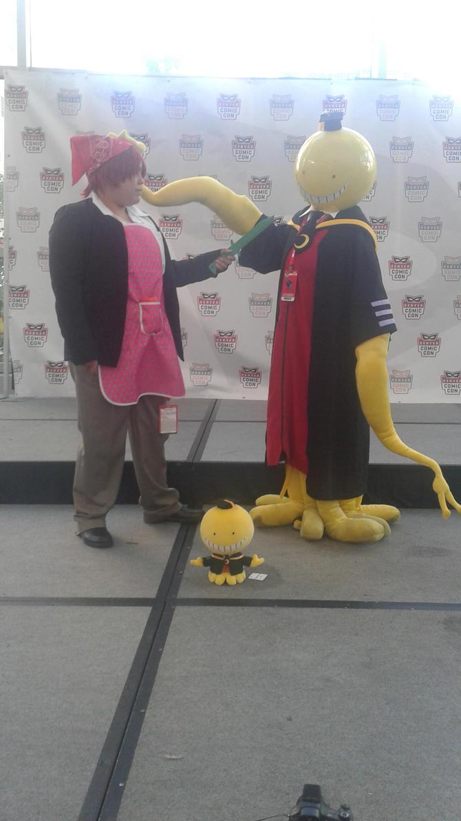 Koro sensei and Karma kun by ifihadsanitymikaed