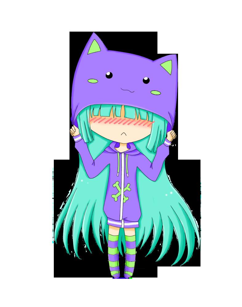 neko-chan by Yvanya