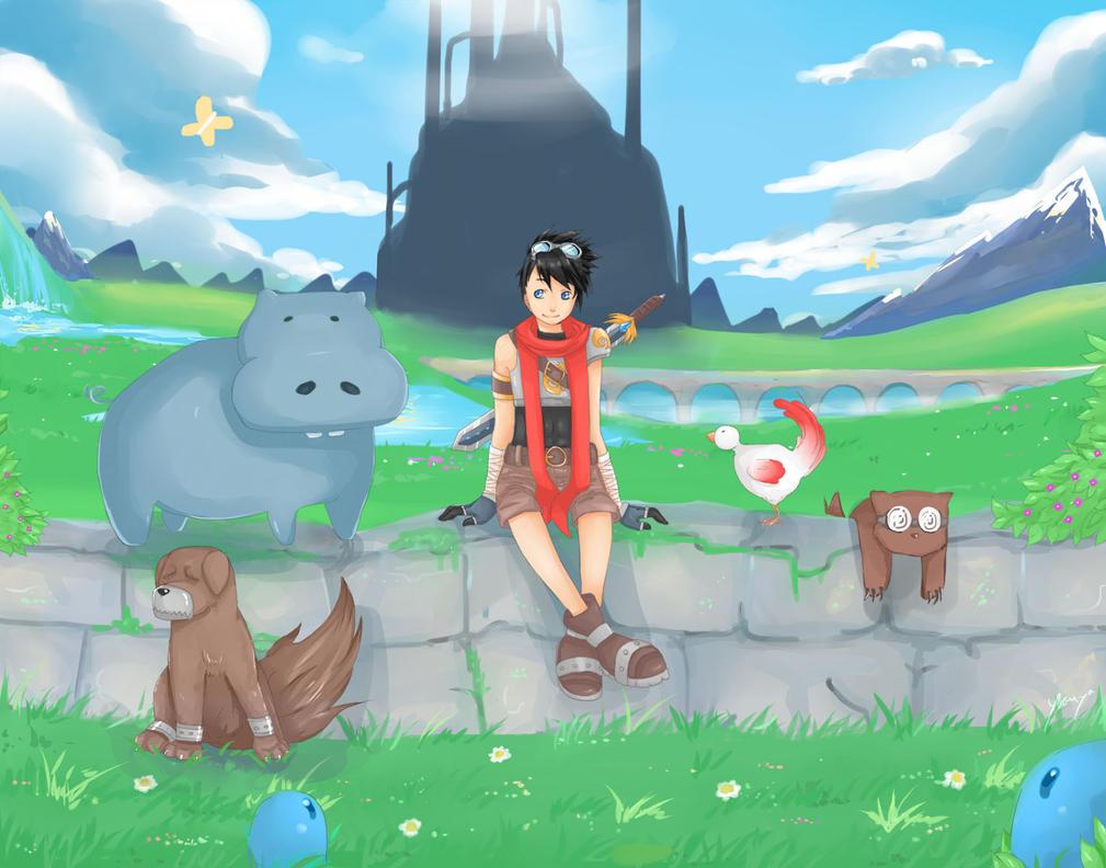 RPG World by Yvanya