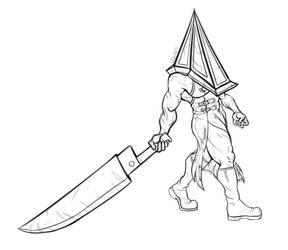 inktober 2020 day 5: blade by leilarts