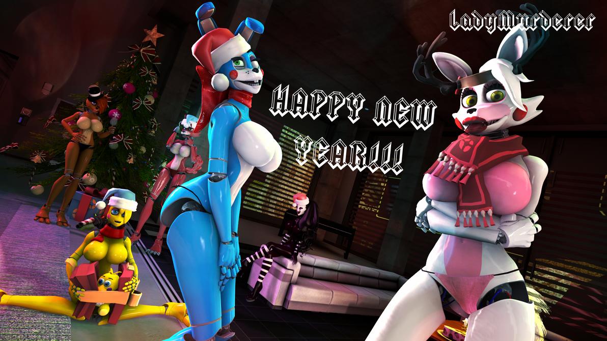 [SFM] FNIA Girls New Year by LadyMurderer007 on DeviantArt