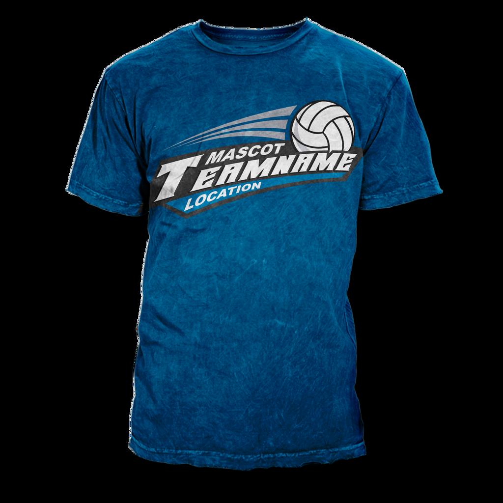 T shirt design volleyball -  Volleyball T Shirt Design Template By Rivaldog