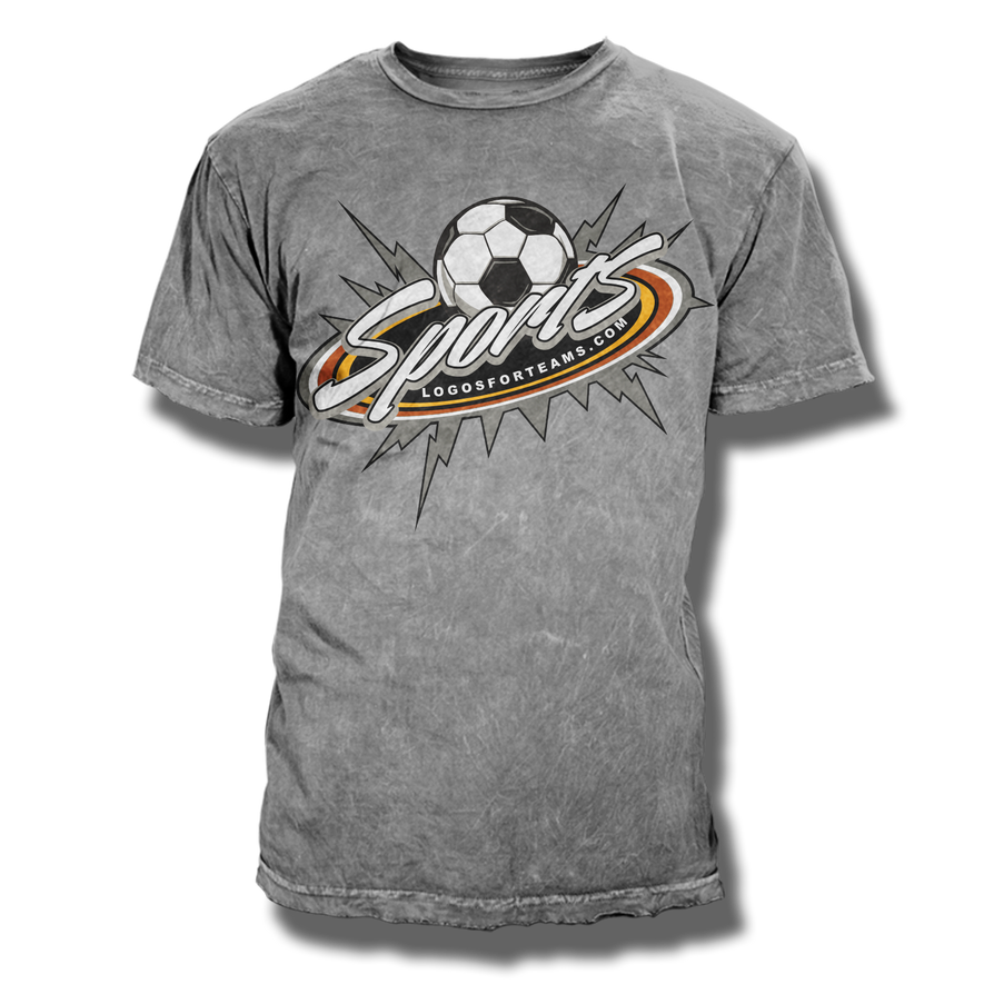 Soccer T Shirt Design Vector Template By Rivaldog On