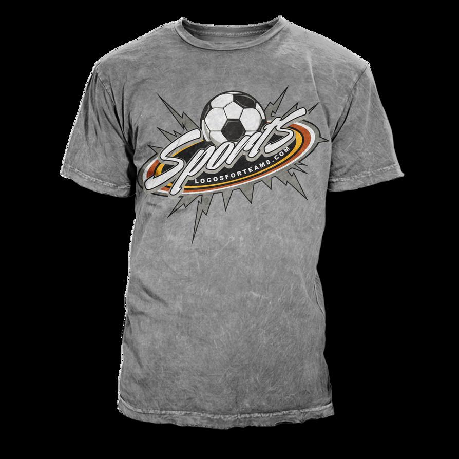 Soccer t shirt design vector template by rivaldog on for Football team t shirt designs