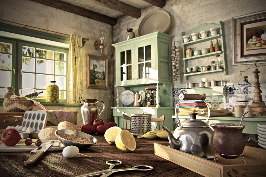 Country Kitchen by peka444