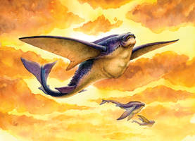 Giant Flying Fish by impactbooks