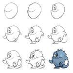 Day 15: Cartoon Monster