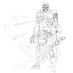 Day 6 of Inktober: Sword