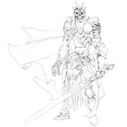 Day 6 of Inktober: Sword by impactbooks