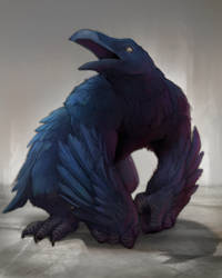 youve heard of owlbears but what about aperavens