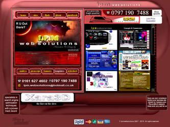 ipmwebsolutions homepage by makatak1